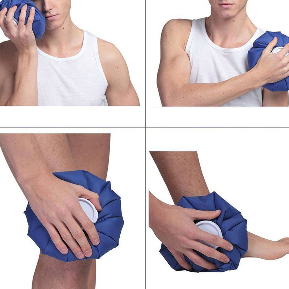 Ice Bag Reusable Heat First Aid Pain Relief Injury Knee Head Cold Cooler Pack